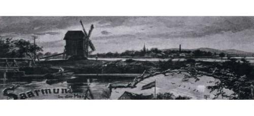 Mühlen und Torfgraben