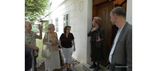 Der Geschichtsverein besucht in Philippsthal das Haus Friedrichshuldt